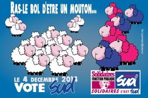 Le 4 décembre 2014, votez SUD