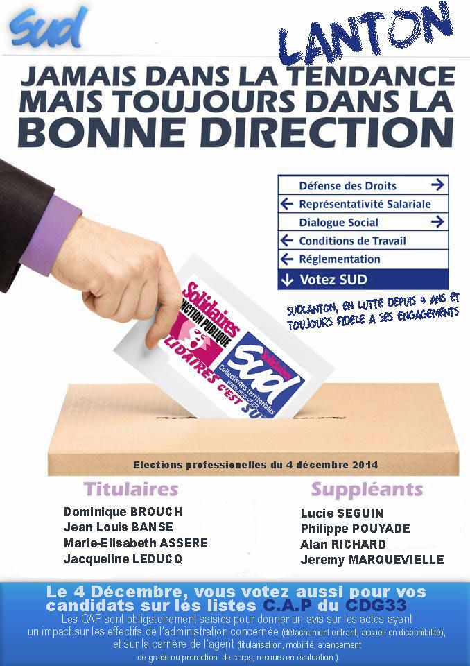 elections-2014 sud lanton